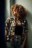 Monet voor Alia blouse zwart - viscose_