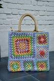 Haakpakket medium draagtas (in aardekleuren)_
