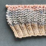 Breipakket voor Rainbow sjaal_