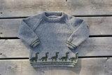 Breipatroontje dino Sweater NL_