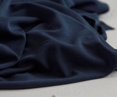 modal double knit navy - jersey