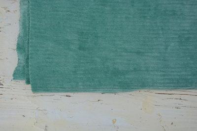 mint met brede rib (katoen) - nicky velours, corduroy