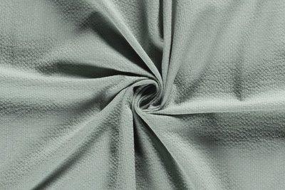 donker mint - baby cotton dobby plain