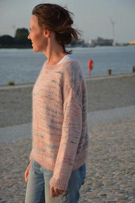 Trui in tricotsteek