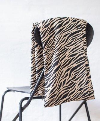 zebra black - viscose