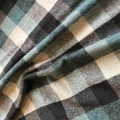 flannel ruit groen