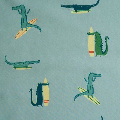 krokodil - gelamineerde katoen