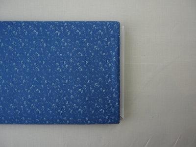 Harbe light blue - cotton satin