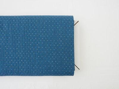 Licht blauw met structuur - canvas
