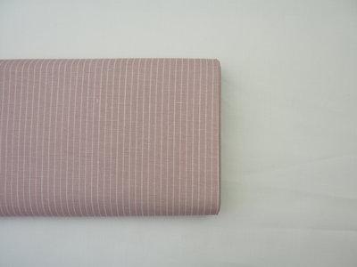 Streepjes roze - Katoen/linnen