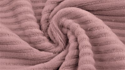 jersey washed cotton cord large rib old pink - nicky velours, corduroy