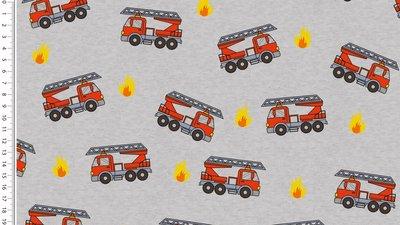 brandweer grijs - winter sweater