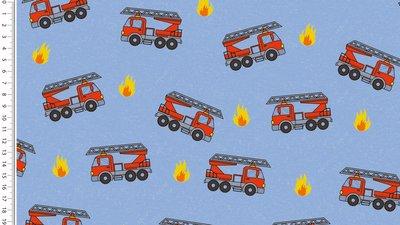 brandweer blauw - winter sweater