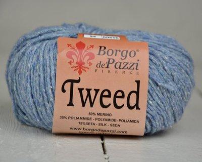 Borgo de pazzi Tweed jeansblauw 94