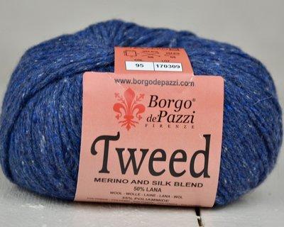 Borgo de pazzi Tweed marine blauw 95