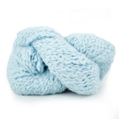 cotton flammé sky blue 18001