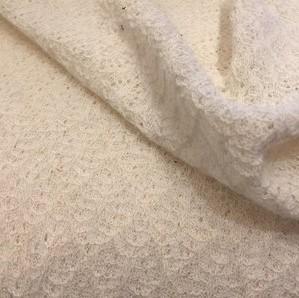 rekbare kant ecru - tricot