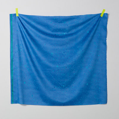 mercy dark blue- cotton satin