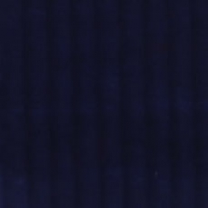 brede rib donkerblauw - corduroy/ribfluweel