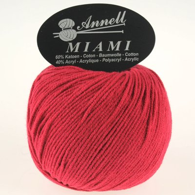 miami 8913 donker rood
