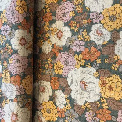 flower pastel - cotton