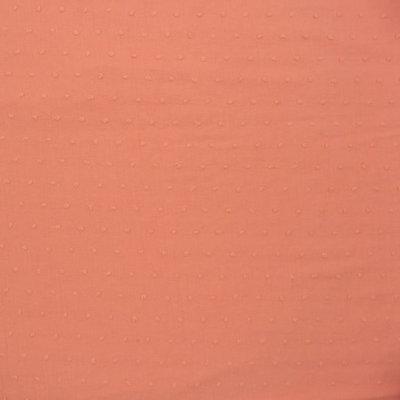 plumetis peach / katoen