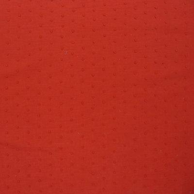 plumetis rood / katoen