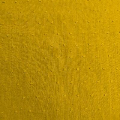 plumetis zonnegeel / katoen