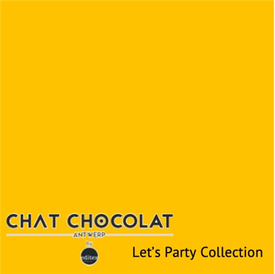 Let's party - Viscose yellow