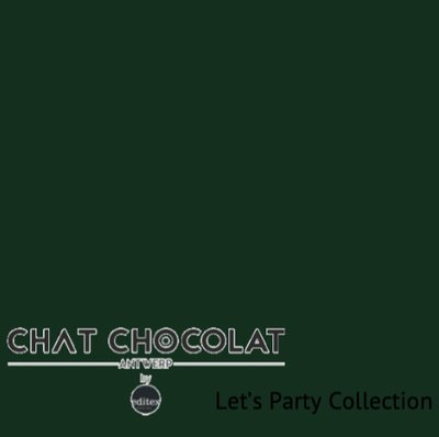 Let's party - Viscose dark green