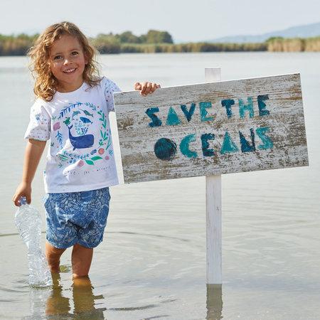 Paneel under the sea (T-shirt) - jersey