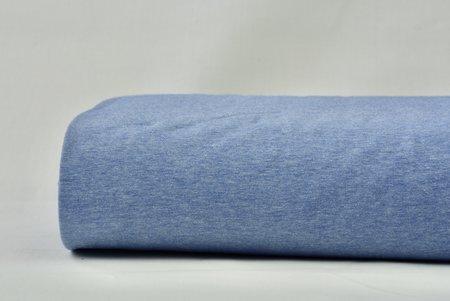 jersey chiné licht blauw - jersey