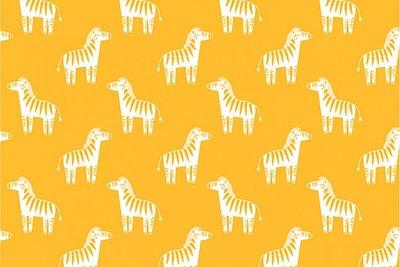 zebra moutarde- double gauze