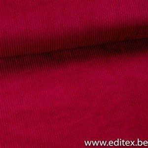 anna skirt (paars/roos) -brede ribfluweel