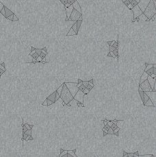 origami racoons - sweater