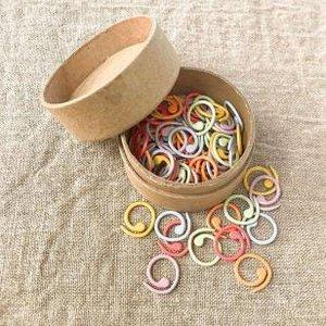 colored split ring markers, medium