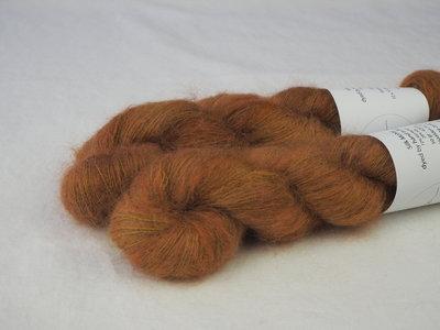 Silk mohair Veerle (donker)