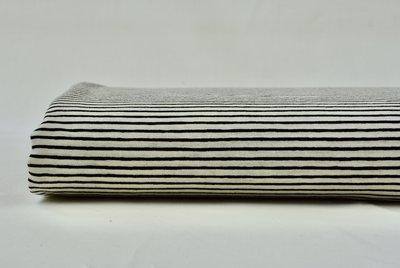 Stripe ecru/black - jersey