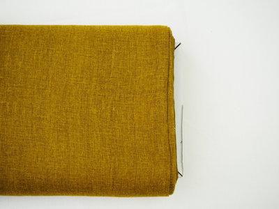 Double gauze linnen, oker (kleur 11)