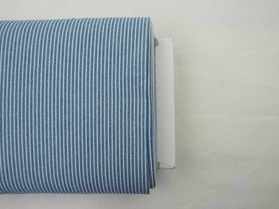 Licht blauw striped demin