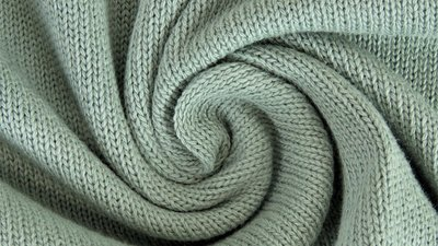 Cotton knitted sage - jersey