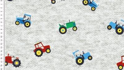 tractor grijs - winter sweater