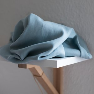Crispy crepe tencel crepe blue mist - viscose (tencel)