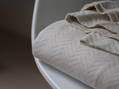organic chevron quilt mist - sweater
