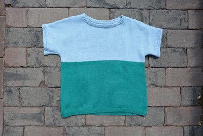 Breipatroontje Leonie t-shirt NL