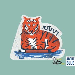 tiger - strijkapplicatie