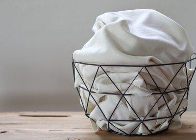 Cotton Flamé Interlock White sand- sweater