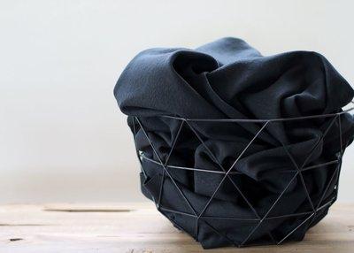 Cotton Flamé Interlock caviar- sweater