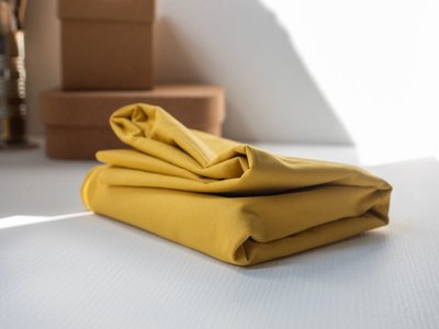 washed cotton twill- canvas mellow yellow