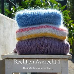 Recht en Averecht 4 (papieren boekje)